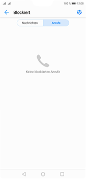 Huawei P20 Pro - Anrufe - Anrufe blockieren - Schritt 5