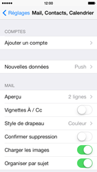 Apple iPhone 5c - E-mail - configuration manuelle - Étape 8