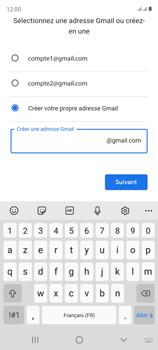 Samsung Galaxy S20 FE - Applications - Créer un compte - Étape 12