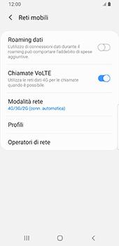 Samsung Galaxy S9 - Android Pie - Rete - Come attivare la connessione di rete 4G - Fase 8