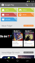 Sony Xperia V - Apps - Installieren von Apps - Schritt 4