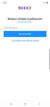 Samsung Galaxy Note10 - E-mail - Configuration manuelle (yahoo) - Étape 11