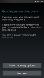 HTC One Max - Applications - Setting up the application store - Step 12