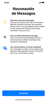 Apple iPhone XR - Contact, Appels, SMS/MMS - Envoyer un SMS - Étape 3