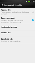 HTC One Mini - MMS - Configurazione manuale - Fase 5