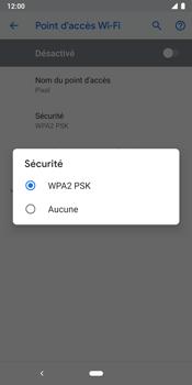 Google Pixel 3 - Internet et connexion - Partager votre connexion en Wi-Fi - Étape 10