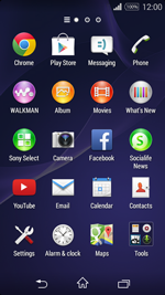 Sony D2203 Xperia E3 - Voicemail - Manual configuration - Step 3