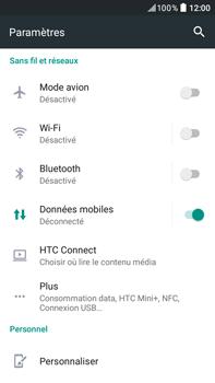 HTC Desire 825 - Internet et connexion - Partager votre connexion en Wi-Fi - Étape 4