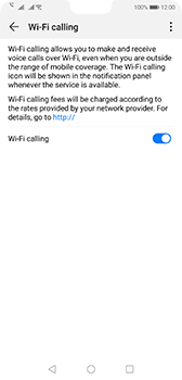 Huawei P20 - Android Pie - WiFi - Enable WiFi Calling - Step 9