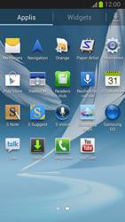 Samsung Galaxy Note II - Internet et roaming de données - Désactivation du roaming de données - Étape 3