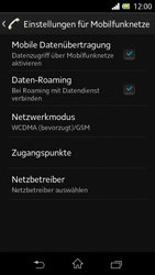 Sony Xperia L - Ausland - Im Ausland surfen – Datenroaming - Schritt 9