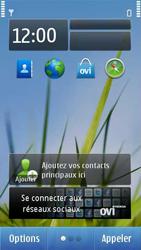 Nokia C7-00 - Messagerie vocale - configuration manuelle - Étape 1