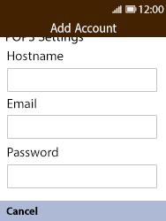 Nokia 8110 Banana - Email - Manual configuration POP3 with SMTP verification - Step 9