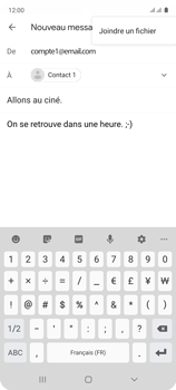 Samsung Galaxy A51 - E-mails - Envoyer un e-mail - Étape 11