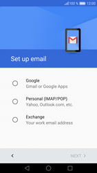 Huawei P9 - E-mail - Manual configuration (gmail) - Step 7