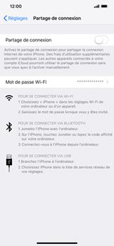 Apple iPhone XR - Internet et connexion - Utiliser le mode modem par USB - Étape 4
