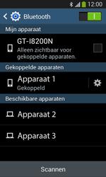 Samsung Galaxy S3 Mini VE (I8200) - Bluetooth - Koppelen met ander apparaat - Stap 8