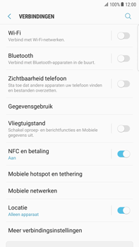 Samsung Galaxy S6 Edge+ (G928F) - Android Nougat - Buitenland - Internet in het buitenland - Stap 6