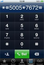 Apple iPhone 3G S - SMS - handmatig instellen - Stap 4