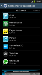 Samsung Galaxy S 4 LTE - Applications - Comment désinstaller une application - Étape 6