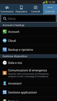 Samsung Galaxy Note III LTE - Dispositivo - Ripristino delle impostazioni originali - Fase 6