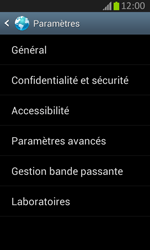 Samsung S7710 Galaxy Xcover 2 - Internet - Configuration manuelle - Étape 20