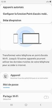 Samsung Galaxy J6 Plus - Internet - comment configurer un point d'accès mobile - Étape 8