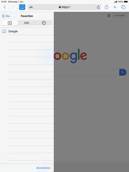 Apple iPad mini (2019) - iPadOS 13 - Internet und Datenroaming - Verwenden des Internets - Schritt 10