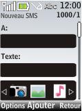 Nokia 2720 fold - MMS - Envoi d