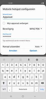 Samsung galaxy-xcover-pro-sm-g715fn - WiFi - Mobiele hotspot instellen - Stap 9