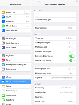 Apple iPad mini retina - E-Mail - Manuelle Konfiguration - Schritt 28