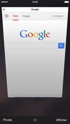 Apple iPhone 6 iOS 8 - Internet et connexion - Naviguer sur internet - Étape 12