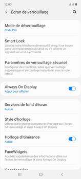 Samsung Galaxy Note 10 Lite - Sécuriser votre mobile - Activer le code de verrouillage - Étape 13