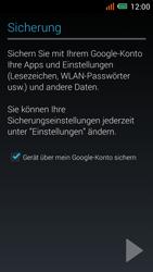 Alcatel One Touch Idol Mini - Apps - einrichten des App Stores - Schritt 22