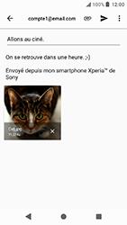Sony Xperia X Compact - Android Oreo - E-mail - envoyer un e-mail - Étape 15