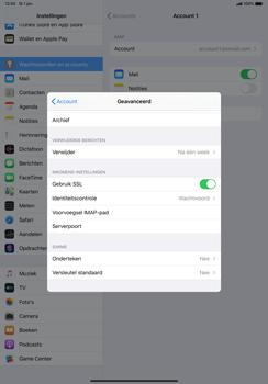 Apple ipad-pro-10-5-inch-met-ipados-13-model-a1709 - E-mail - Instellingen KPNMail controleren - Stap 21