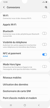 Samsung Galaxy A50 - Réseau - Sélection manuelle du réseau - Étape 5