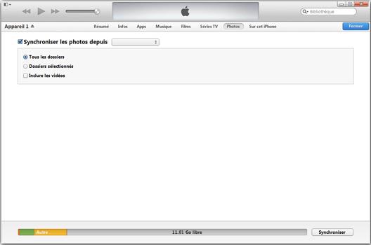 Apple iPhone 11 - Photos, vidéos, musique - Récupérer vos contenus multimédias avec un ordinateur - Étape 9