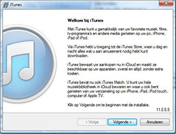 Apple iPhone 4 iOS 7 - software - pc suite installeren - stap 2