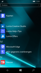 Microsoft Lumia 950 - Internet - Hoe te internetten - Stap 2