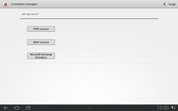 Samsung P7500 Galaxy Tab 10-1 - E-mail - e-mail instellen: POP3 - Stap 6