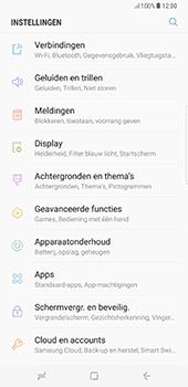 Samsung Galaxy S8 Plus - Netwerk - Handmatig een netwerk selecteren - Stap 4