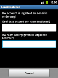 Samsung S5360 Galaxy Y - E-mail - Handmatig instellen - Stap 16
