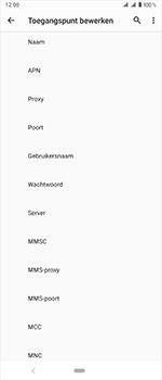 Sony Xperia 1 - Internet - handmatig instellen - Stap 13