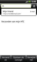 HTC A7272 Desire Z - E-mail - e-mail versturen - Stap 4