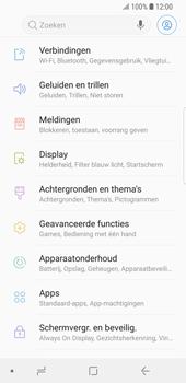Samsung Galaxy S9 (SM-G960F) - WiFi - Verbinden met een netwerk - Stap 4