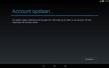 Sony Xperia Tablet Z2 4G (SGP521) - Applicaties - Account aanmaken - Stap 20