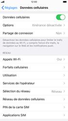 Apple iPhone 8 - iOS 13 - Internet et roaming de données - Comment vérifier que la connexion des données est activée - Étape 5