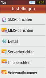 Samsung S5230 Star - e-mail - handmatig instellen - stap 5