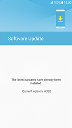 Samsung Galaxy A3 (2017) - Software - Installing software updates - Step 8